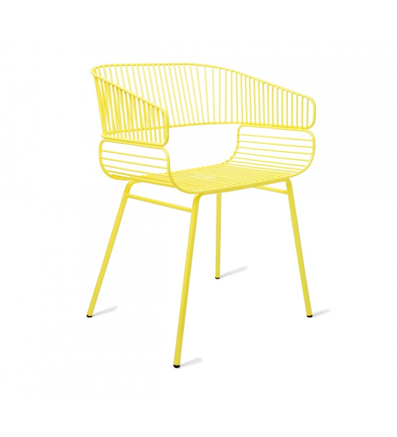 Krzesło do ogrodu Trame, Petite Friture, Pufa Design