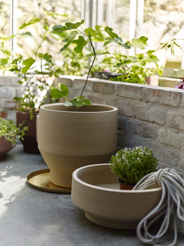 Ceramiczne donice ogrodowe Skagerak