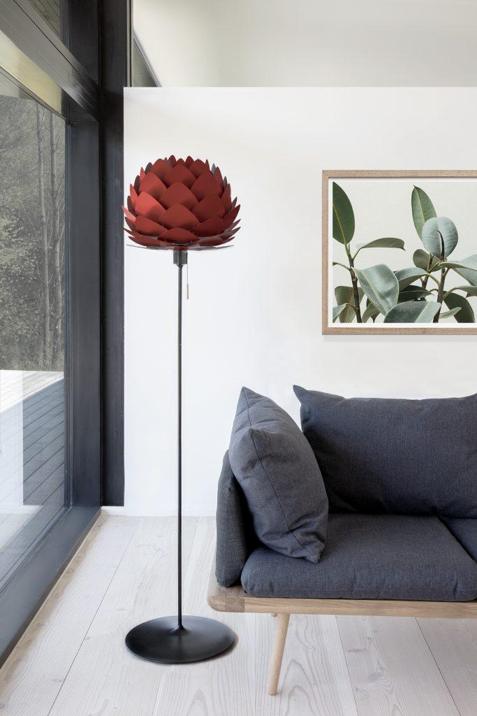 Sofa 3-osobowa Lounge Around UMAGE - ciemny i jasny dąb