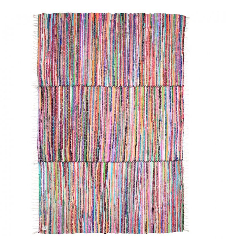 Dywan pleciony z kawałków tkanin XL Storebror 170x240 cm
