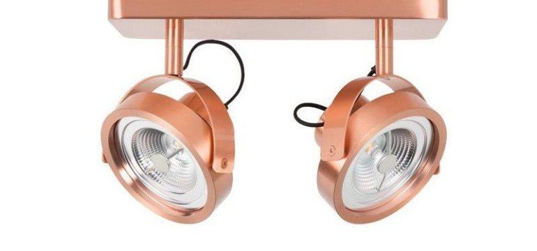lampa-spotlight-dice-2-led-miedziany