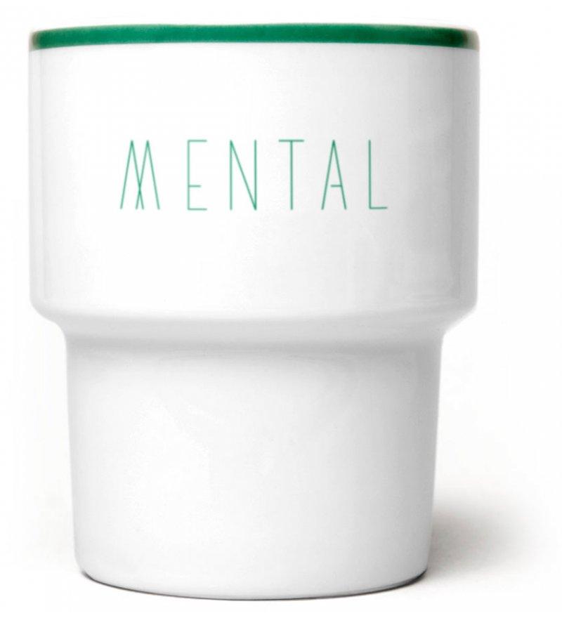 """Kubek porcelanowy """"Mental"""" MAMSAM"""