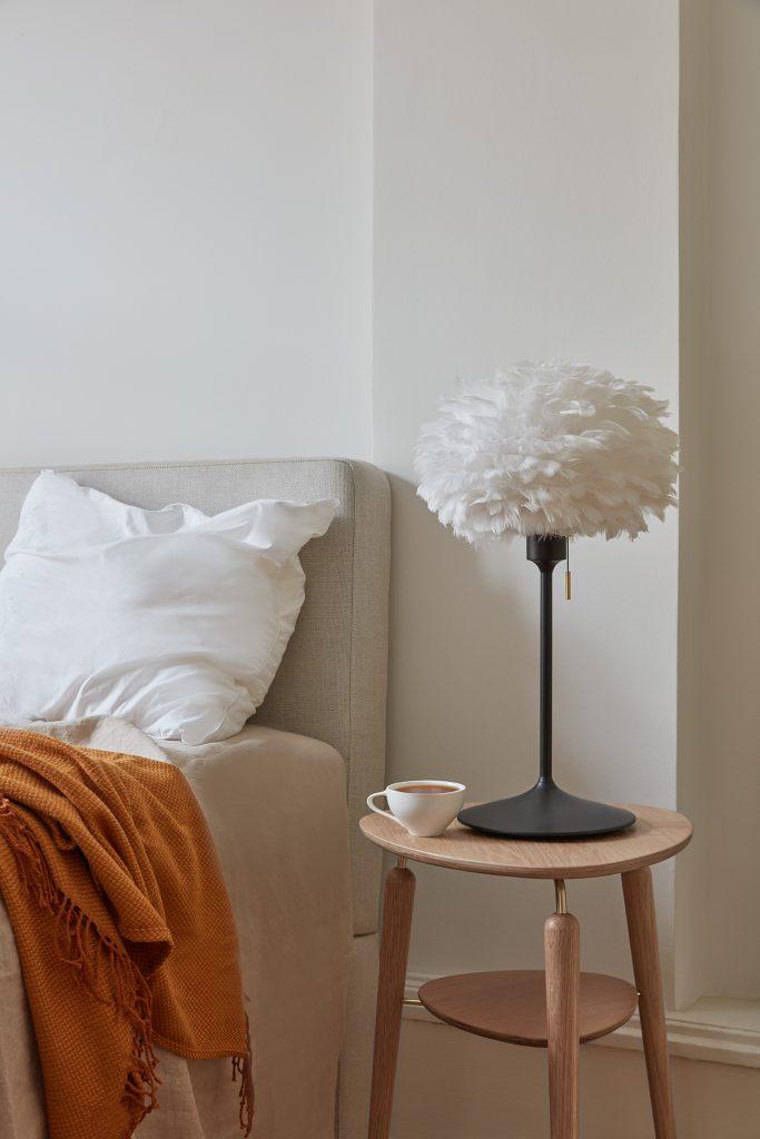 Podstawa Champagne Table z Eosem jako lampka nocna