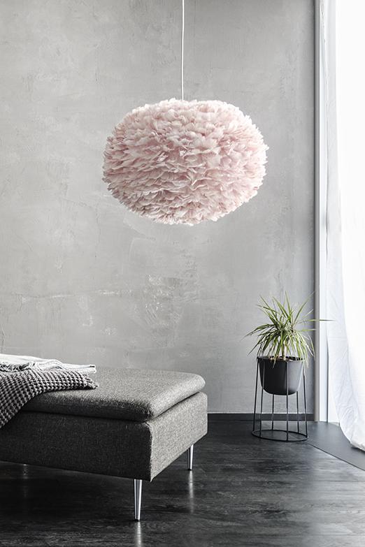 Lampa Eos light rose large