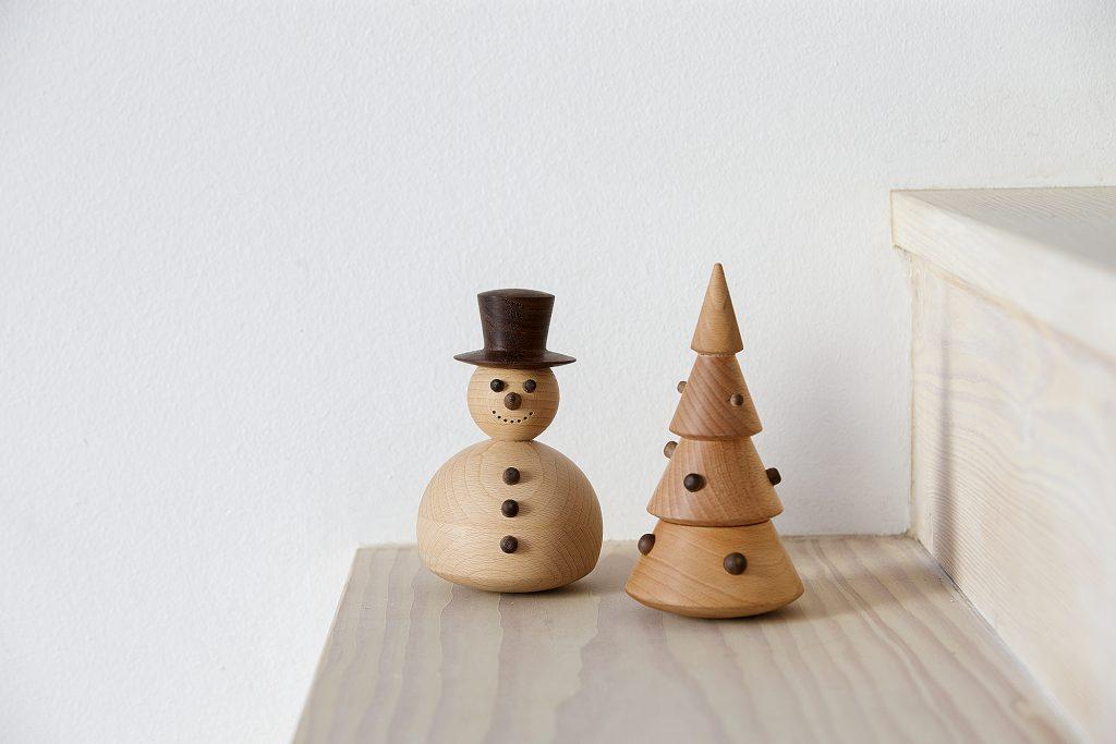 Świąteczne figurki z drewna, Spring Copenhagen