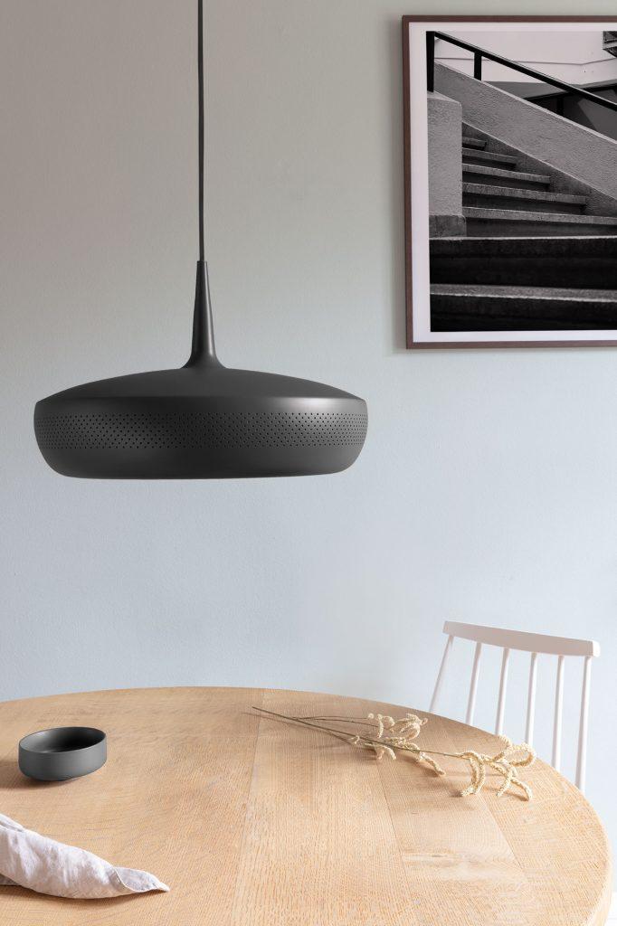 Lampa Clava Dine black, Umage