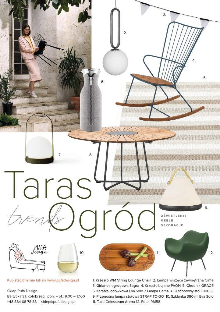 Trendy Ogród 2020, Pufa Design